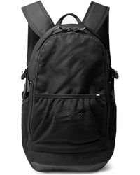 Nike - Leather-trimmed Cordura Backpack - Lyst