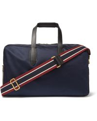 J.Crew - Leather-trimmed Nylon Holdall - Lyst