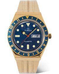 Timex Q Reissue 38mm Gold-tone Watch - Metallic