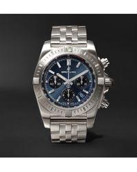 Breitling - Chronomat B01 Chronograph 44mm Stainless Steel Watch - Lyst