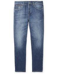 Brunello Cucinelli Slim-fit Denim Jeans - Blue