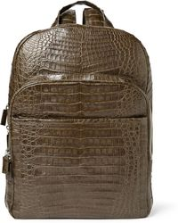 Santiago Gonzalez - Crocodile Backpack - Lyst