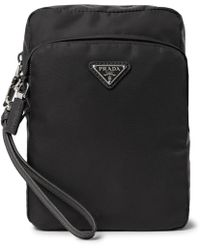 Prada - Nylon Wash Bag - Lyst