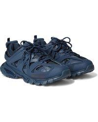 Balenciaga Track Trainer - Blue