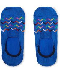 Pantherella - Tahiti Stretch Egyptian Cotton-blend No-show Socks - Lyst