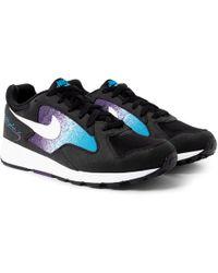 Nike - Air Skylon Ii Felt And Mesh Sneakers - Lyst