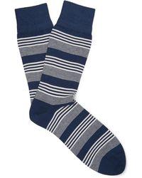 Corgi - Striped Cotton-blend Socks - Lyst