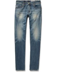 AG Jeans - - Stockton Skinny-fit Stretch-denim Jeans - Light Denim - Lyst