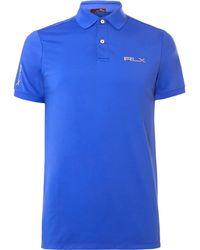 RLX Ralph Lauren - Airflow Jersey Polo Shirt - Lyst