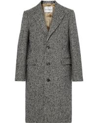 SALLE PRIVÉE - Adrian Houndstooth Wool-blend Overcoat - Lyst