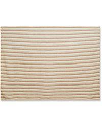 Frescobol Carioca Striped Linen Towel - Natural