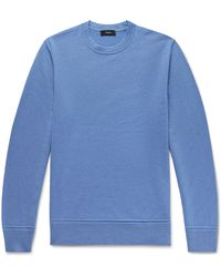 Theory Hilles Cashmere Jumper - Blue