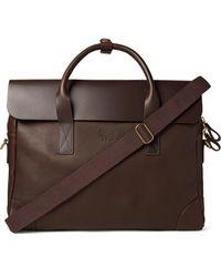 Bennett Winch Full-grain Leather Briefcase - Brown