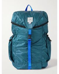 Epperson Mountaineering Packable Logo-appliquéd Recycled Nylon-ripstop Backpack - Blue