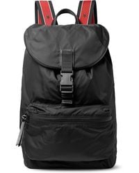 Givenchy - Obsedia Leather-trimmed Nylon Backpack - Lyst