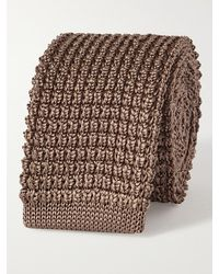 Lanvin 5cm Knitted Silk Tie - Multicolor