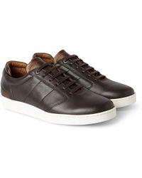 Want Les Essentiels De La Vie - Lennon Two-tone Leather Sneakers - Lyst