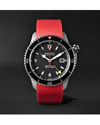 Bremont Oracle Ii 43mm Titanium Watch With Rubber And Kevlar Straps - Black