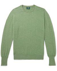 William Lockie Oxton Cashmere Sweater - Green