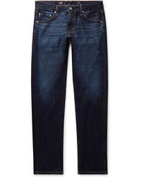 AG Jeans Tellis Slim-fit Stretch-denim Jeans - Blue