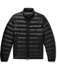 Moncler - Neveu Quilted Shell Down Jacket - Lyst