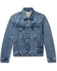 J.Crew - Indigo-dyed Denim Jacket - Lyst