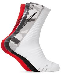 Nike Three-pack Everyday Max Cushion Crew Dri-fit Socks - Grey