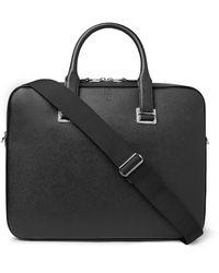 Dunhill Cadogan Full-grain Leather Briefcase - Black