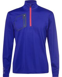 RLX Ralph Lauren - Tech-jersey Half-zip Golf Top - Lyst