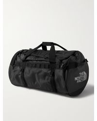 The North Face Base Camp Large Coated-canvas Duffle Bag - Black