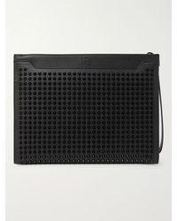 Christian Louboutin Sky Leather Pouch - Black