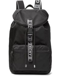 Givenchy - Leather-trimmed Nylon Backpack - Lyst