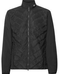Nike Aeroloft Repel Quilted Zip-up Golf Jacket - Black