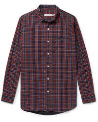 Nonnative - Gardener Checked Cotton-poplin Shirt - Lyst