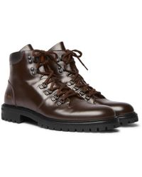 Common Projects - Leather Boots - Lyst