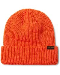 Filson Watch Beanie - Orange