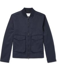 MR P. - Cotton-twill Blouson Jacket - Lyst