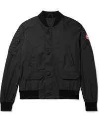Canada Goose Faber Dura-force Light Bomber Jacket - Black
