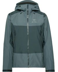 Arc'teryx Beta Sl Hybrid Gore-tex Hooded Jacket - Blue