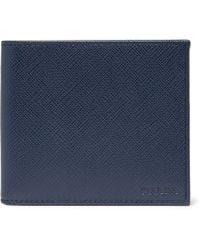 Prada - Saffiano Leather Billfold Wallet - Lyst