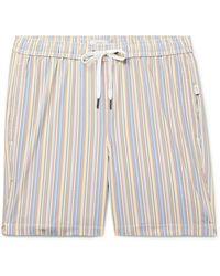 Onia Charles Striped Swim Shorts - Multicolor