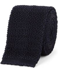 Drake's - 6.5cm Knitted Silk Tie - Lyst