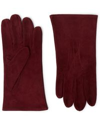 Anderson & Sheppard - Camoshita Suede Gloves - Lyst