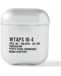 WTAPS 10-4 Printed Tpu Airpods Case - Metallic