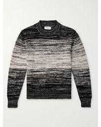 MR P. - Dégradé Alpaca-blend Mock-neck Sweater - Lyst
