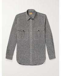 L.E.J Linen Shirt - Grey