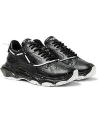 Valentino - Garavani Paint Splat Sneakers - Lyst