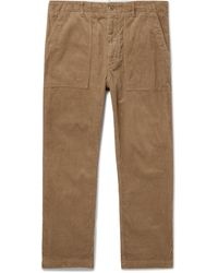 Engineered Garments Fatigue Cotton-corduroy Trousers - Multicolour