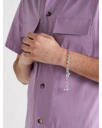 Bottega Veneta Sterling Silver Bracelet - Metallic