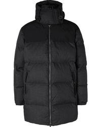 The North Face Kazuki Kuraishi Black Series Nuptse Quilted Pertex Quantum Hooded Down Jacket